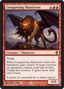 Conquering Manticore - Foil