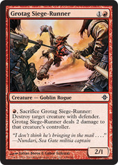 Grotag Siege-Runner - Foil