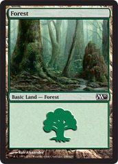 Forest (246) - Foil (Magic 2011)