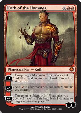 Koth of the Hammer - Foil