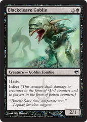 Blackcleave Goblin - Foil on Channel Fireball