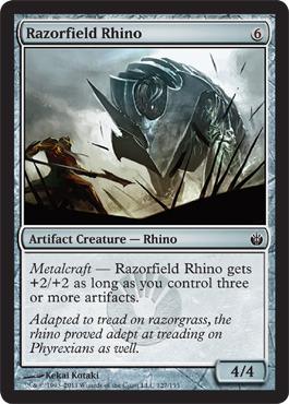 Razorfield Rhino - Foil
