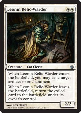 Leonin Relic-Warder - Foil