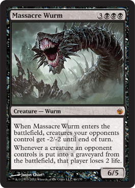 Massacre Wurm - Foil