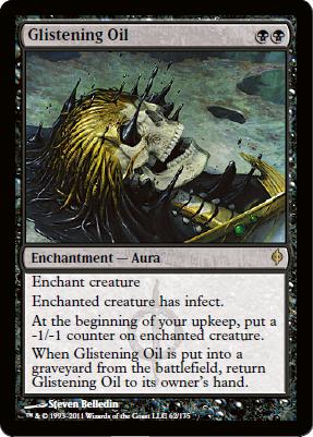 Glistening Oil - Foil