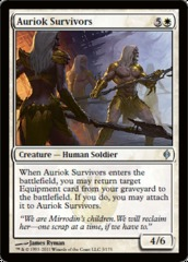 Auriok Survivors - Foil on Channel Fireball