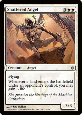 Shattered Angel - Foil