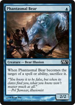 Phantasmal Bear - Foil