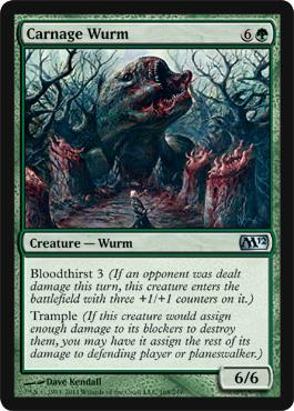 Carnage Wurm - Foil