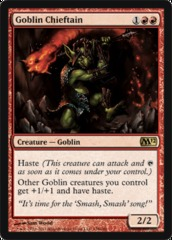 Goblin Chieftain - Foil