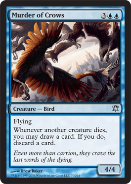 Murder of Crows - Foil