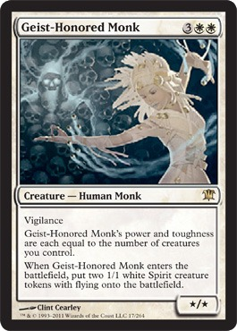 Geist-Honored Monk - Foil