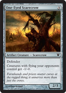 One-Eyed Scarecrow - Foil
