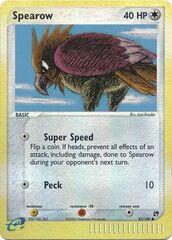 Spearow - 81/100 - Common - Reverse Holo