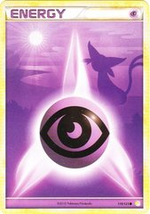 Psychic Energy - 119/123 - Common - Reverse Holo