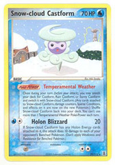 Snow-cloud Castform - 29/113 - Rare - Reverse Holo