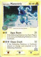 Team Aqua's Manectric - 29/95 - Uncommon - Reverse Holo
