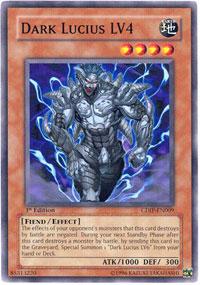 Dark Lucius LV4 - CDIP-EN009 - Common - Unlimited Edition