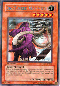 Big-Tusked Mammoth - FET-EN015 - Rare - Unlimited Edition