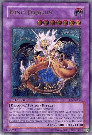 King Dragun - FET-EN036 - Ultimate Rare - Unlimited Edition