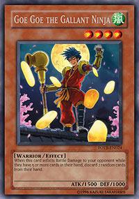 Goe Goe the Gallant Ninja - FOTB-EN024 - Rare - Unlimited Edition