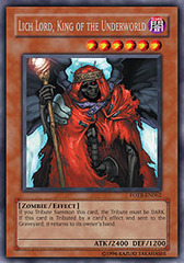 Lich Lord, King of the Underworld - FOTB-EN062 - Secret Rare - Unlimited Edition