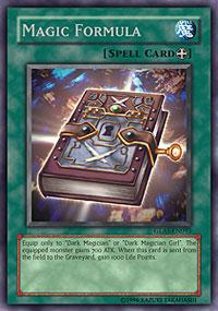 Magic Formula - GLAS-EN093 - Secret Rare - Unlimited Edition