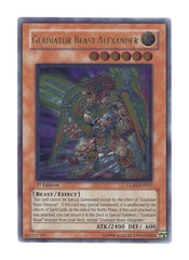 Gladiator Beast Alexander - GLAS-EN017 - Ultimate Rare - Unlimited Edition