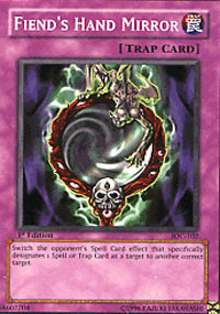 Fiends Hand Mirror - IOC-102 - Common - Unlimited Edition