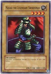 Masaki the Legendary Swordsman - LOB-038 - Common - Unlimited Edition