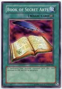 Book of Secret Arts - LOB-043 - Common - Unlimited Edition