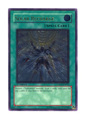 Solar Recharge - Ultimate - LODT-EN052 - Ultimate Rare - Unlimited