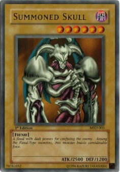 Summoned Skull - MRD-003 - Ultra Rare - Unlimited Edition