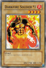 Darkfire Soldier #1 - PSV-043 - Common - Unlimited Edition on Channel Fireball