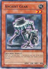 Ancient Gear - SOI-EN008 - Common - Unlimited Edition