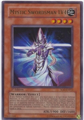 Mystic Swordsman LV4 - SOD-EN012 - Ultra Rare - Unlimited Edition