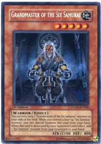 Grandmaster of the Six Samurai - STON-EN000 - Secret Rare - Unlimited Edition