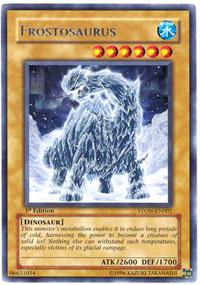 Frostosaurus - STON-EN002 - Rare - Unlimited Edition