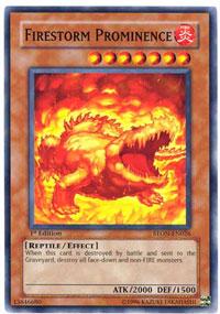 Firestorm Prominence - STON-EN026 - Common - Unlimited Edition