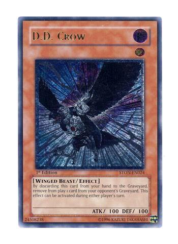 D.D. Crow - STON-EN024 - Ultimate Rare - Unlimited Edition