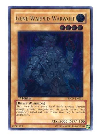 Gene Warped Warwolf Ston En001 Ultimate Rare