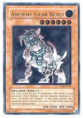 Ancient Gear Beast - TLM-EN007 - Ultimate Rare - Unlimited Edition