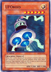UFOroid - CRV-EN010 - Super Rare - Unlimited Edition