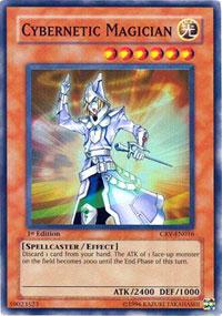 Cybernetic Magician - CRV-EN016 - Super Rare - Unlimited Edition