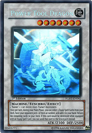 Power Tool Dragon - RGBT-EN042 - Ghost Rare - Unlimited Edition