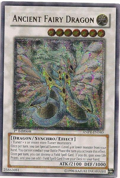Ancient Fairy Dragon - ANPR-EN040 - Ultimate Rare - Unlimited Edition