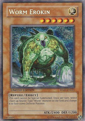 Worm Erokin - HA01-EN021 - Secret Rare - Unlimited Edition