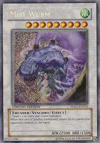 Mist Wurm - HA01-EN023 - Secret Rare - Unlimited Edition