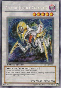 Ally of Justice Catastor - HA01-EN026 - Secret Rare - Unlimited Edition