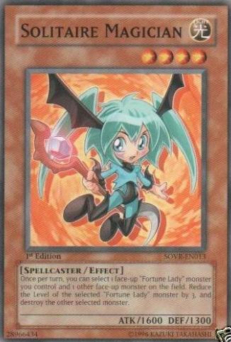Solitaire Magician - SOVR-EN013 - Common - Unlimited Edition